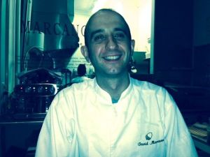 Chef and owner David Marcano