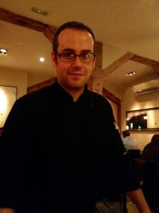 Chef and owner Marcos Gil